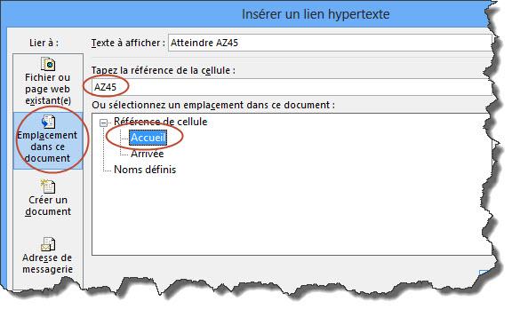 Comment se balader d 39 un classeur excel un autre gr ce un lien hypertexte tss performance - Comment customiser un classeur ...