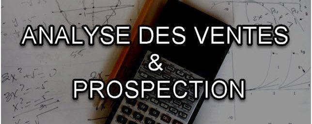 Analyse des ventes et de la prospection –