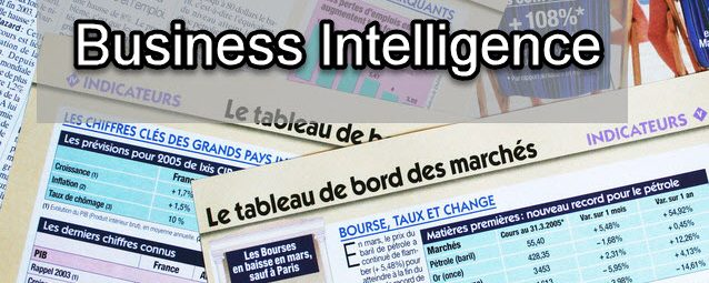 Business Intelligence: les outils_